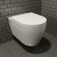 Bordeaux Wall Hung Toilet & Soft Close Seat