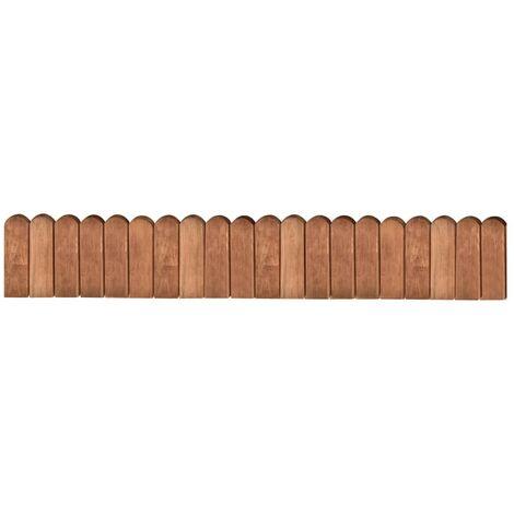 Border Roll Brown 120 cm Impregnated Pinewood