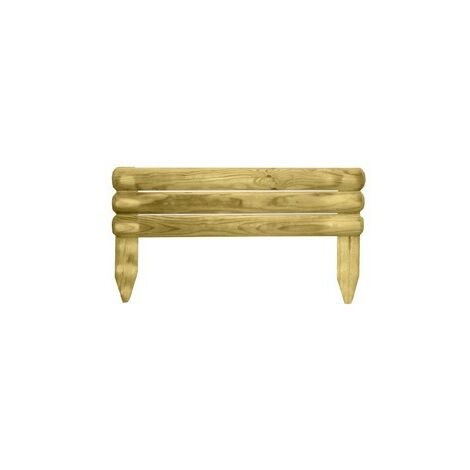 Bordo madera fijo 5 x 55 x 15 / 30 cm.