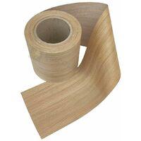 Bordo tranciato impiallacciatura legno rovere senza colla da 230 mm