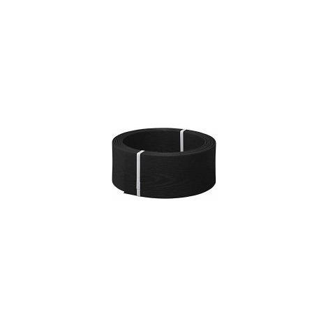 Bordura de composite negro de 9 cm de altura