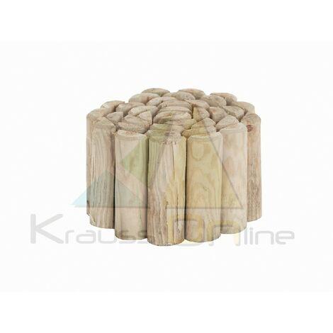 Bordura de madera flexible