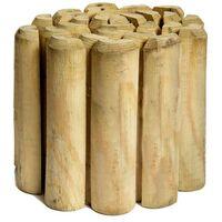 Bordura Flexible de madera