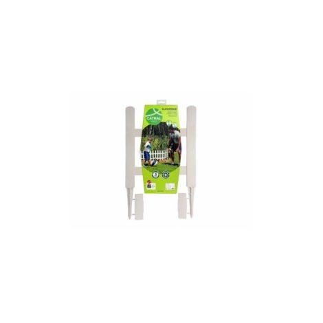 Bordura Jardin 34,5X7Cm Catral Pvc Bl Lop 49010002 5 Pz