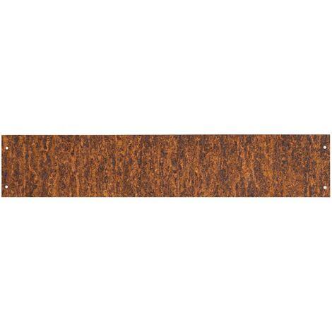 Bordure de gazon acier inoxydable bordure betterave acier corten