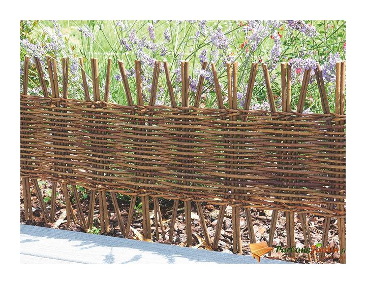 Bordure de jardin à planter en bois freeborder