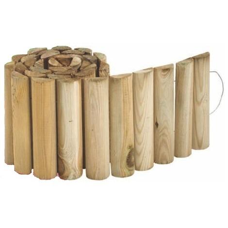 Bordures de Jardin à dérouler en Bambou - 1 rouleau 120x30cm 29,99 €