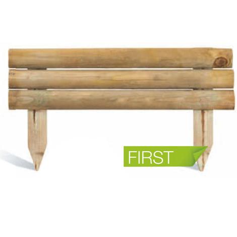 Bordure de jardin en bois à planter First - BU0214526