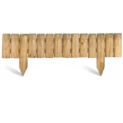 Bordure de jardin en bois à planter Quebec L