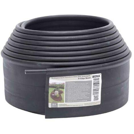 """main image of """"Bordure de jardin noir en polyéthylène Smart - H.10 cm x L.6 m"""""""