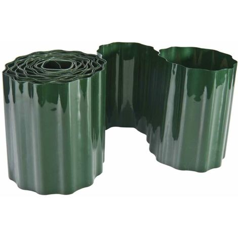 Bordure de pelouse - Matériau : PVC