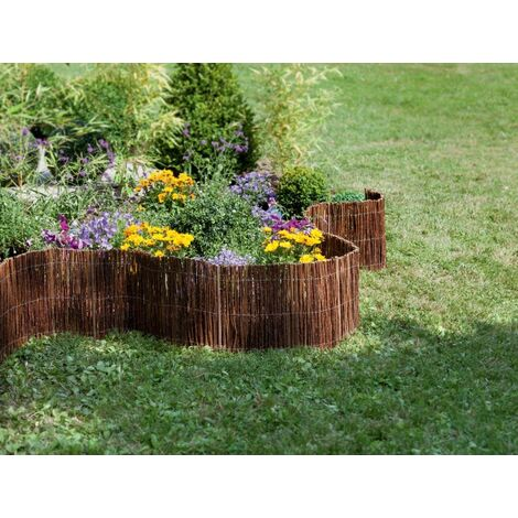 "Bordure en osier "" Willow Roll"" - 0,25 x 3 m"
