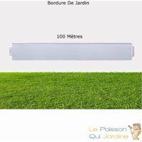 Bordures De Jardin, En Métal, à Clipser, Longueur De 100 Mètres.