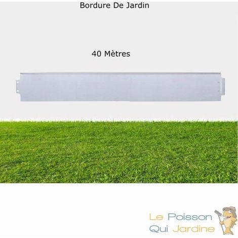 Bordures De Jardin, En Métal, à Clipser, Longueur De 40 Mètres.