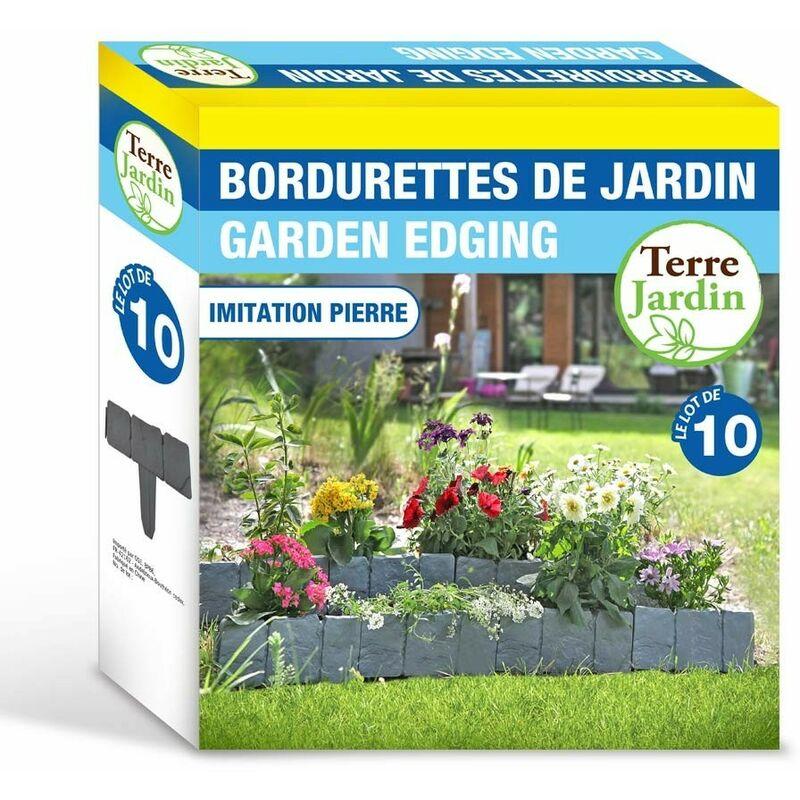 Bordures De Jardin Imitation Pierre Par 10