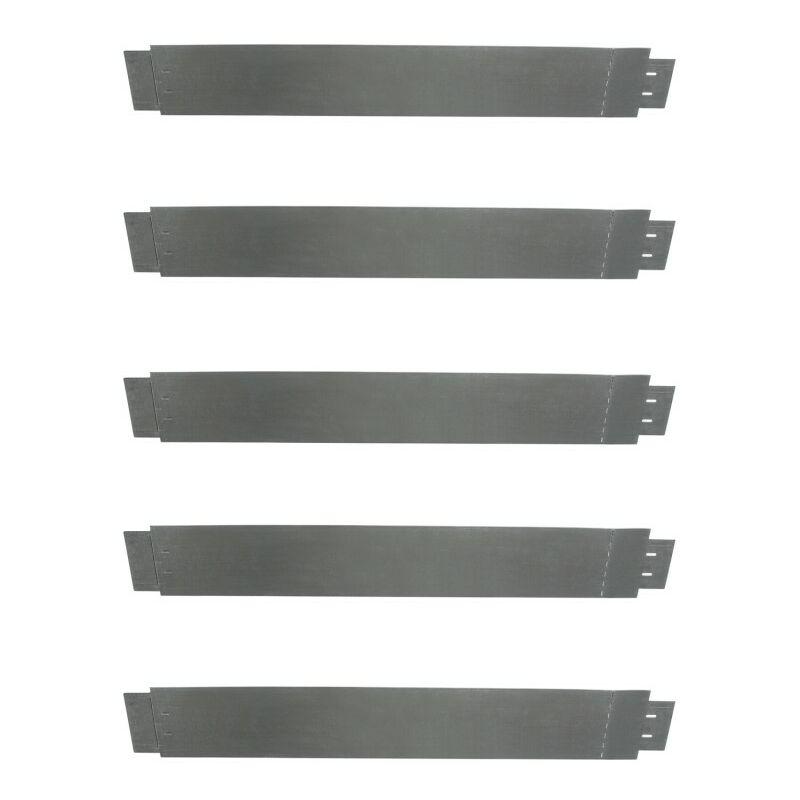 bordurette de jardin x5 en acier l 5 m x h m 13198. Black Bedroom Furniture Sets. Home Design Ideas