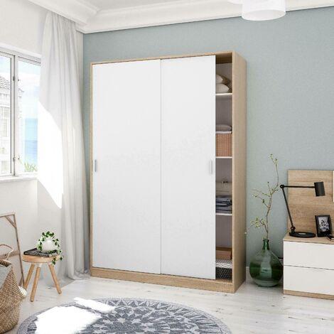 Bormio cabinet with two sliding doors, 200 x 120 x 50 cm
