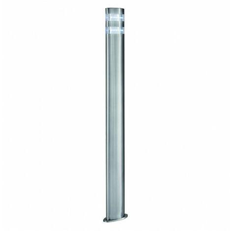 Borne 90 cm Led Outdoor, en acier inoxydable et polycarbonate