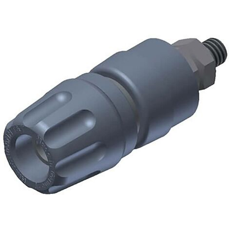 Borne de polarité Ø stylo (détails): 4 mm SKS Hirschmann PKI 10 A 930103106 gris 35 A 1 pc(s) W27255