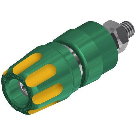 Borne de polarité Ø stylo (détails): 4 mm SKS Hirschmann PKI 10 A 930103188 jaune, vert 35 A 1 pc(s)