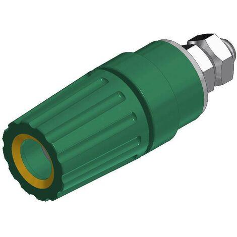 Borne de polarité Ø stylo (détails): 4 mm SKS Hirschmann PKI 110 931714188 jaune, vert 35 A 1 pc(s) D21941