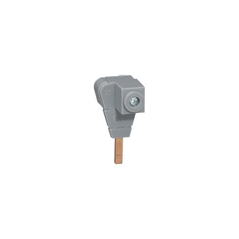 Borne de raccordement pour produit borne à vis pour alimentation par peigne traditionnel section 6mm2 à 35mm2 (404906)