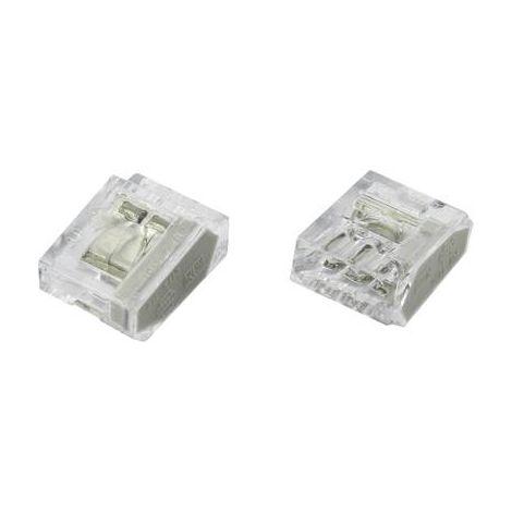 BORNE DE RACCORDEMENT TRU COMPONENTS PC253X-CLG 1365810 FLEXIBLE: - RIGIDE: 0.25-2.5 MM² NOMBRE TOTAL DE PÔLES: 3 TRANSPARENT 25
