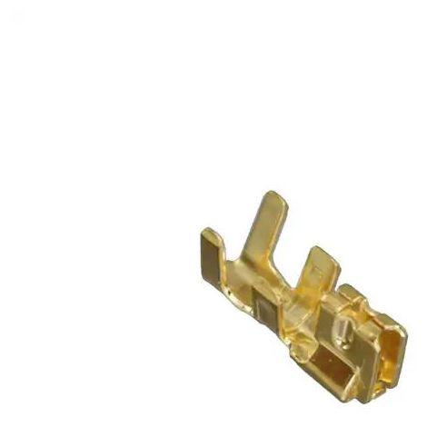 Borne DuraClik, Mi II. Micro-Latch Sherlock femelle puor Câble de sec. AWG 26-22 d'or