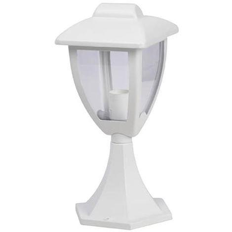 Borne extérieures design Corep Blanc Fonte d\'aluminium 653692