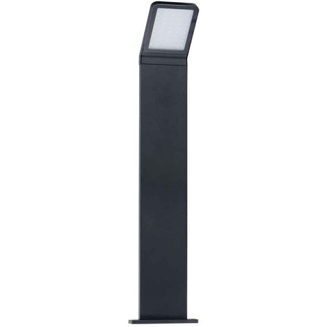 Borne noir H50cm SEVIA 9W LED integrés IP54 Blanc neutre éxterieur KANLUX - 23552