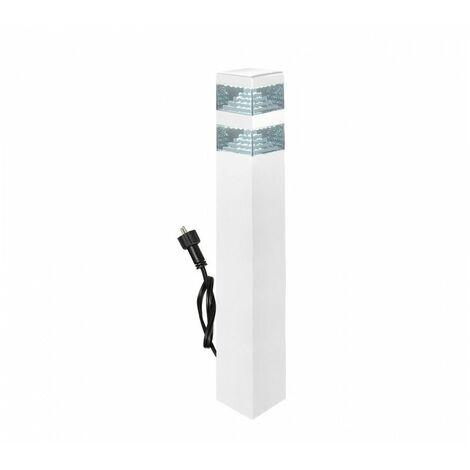 Borne Pyramide Inox 30 LED SMD 8.5W 12V