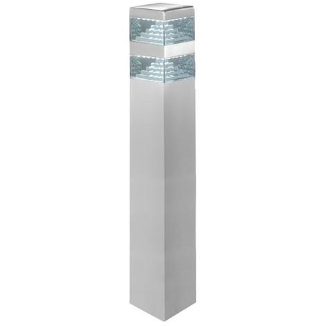 Borne Pyramide Inox 60 LED SMD 10.5W