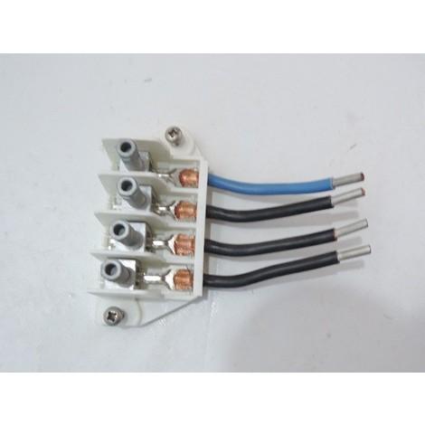 Bornier additionnel avec connexion à perforation d'isolant destiné au coffret S20 triphasé MICHAUD P210