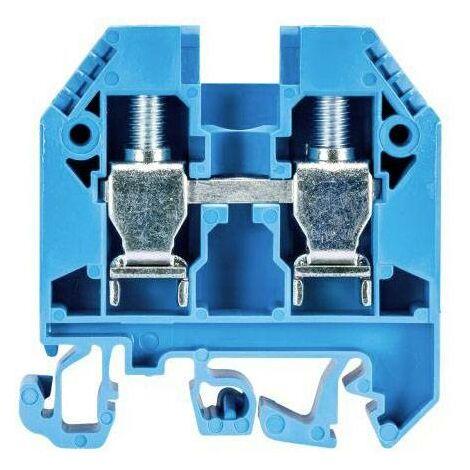 Bornier de traversée selos Wieland 57.510.0155.6 bleu 1 pc(s) D28503
