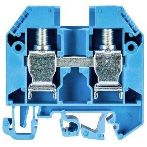 Bornier de traversée selos Wieland 57.516.0155.6 bleu 1 pc(s) D16051