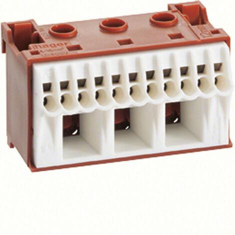 Bornier phase sanvis 11x4mm2 + 3x25mm2 (KN14P)