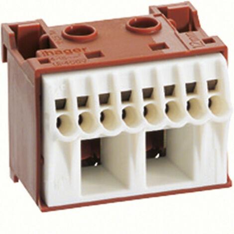 Bornier phase sanvis 8x4mm2 + 2x25mm2 (KN10P)