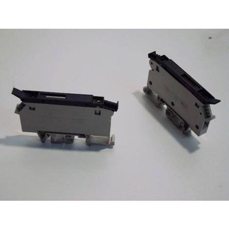 Bornier sectionnable à fusibles 5x20mm DEL rouge 24V vis 4 mm2 gris SCHNEIDER ELECTRIC AB1FUSE435U5XB