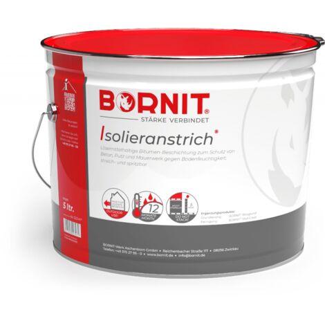 BORNIT Isolieranstrich - ungefuellter Bitumenanstrich