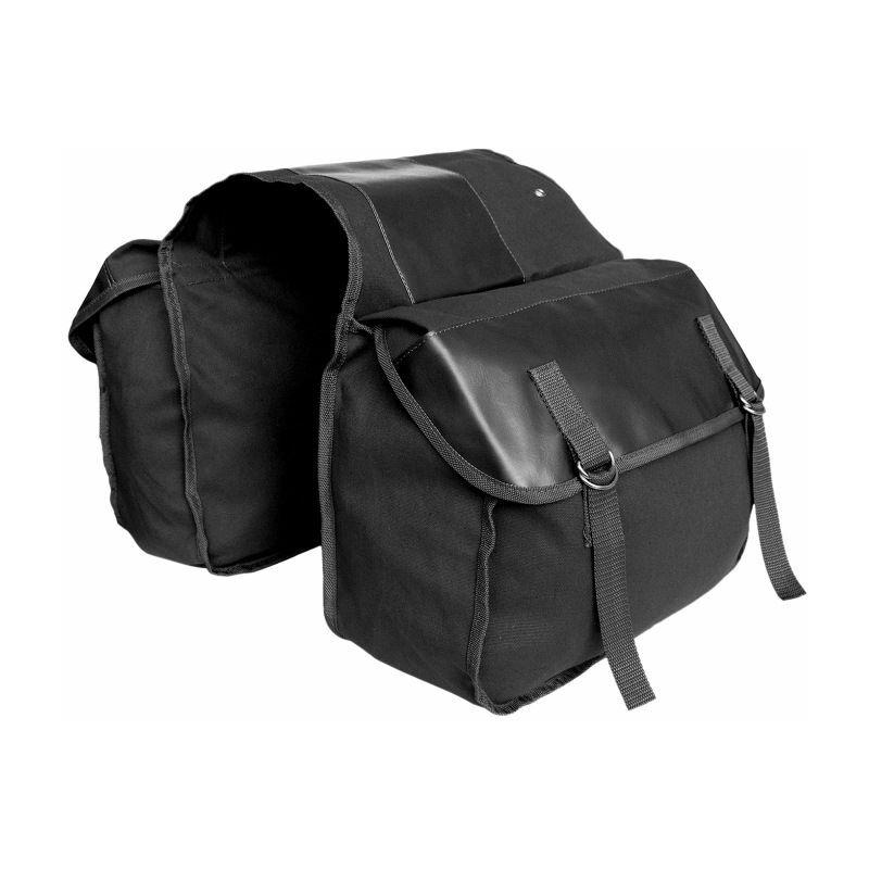 Thsinde Borsa da bicicletta Portapacchi, doppia borsa 35 L, borsa per ruota posteriore, riflettente, per