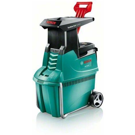Bosch 0600803300 Bio trituradora AXT 25 TC Para material verdes y ramas hasta 4,5cm 2500W Sistema succión automática