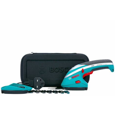 Bosch 0600833172 ISIO 3.6V Cordless Shrub & Grass Shear Set