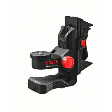 Bosch 0601015A01 Soporte universal BM 1 para láseres de líneas y de puntos compatible con barra telescópica BT 350 Professiona