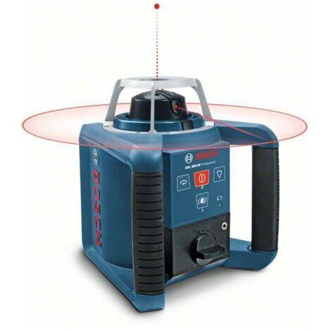 Bosch 0601061501 Nivel láser giratorio GRL-300-HV Professional + RC 1 + WM 4 + LR1 Autonivelación horizontal y vertical