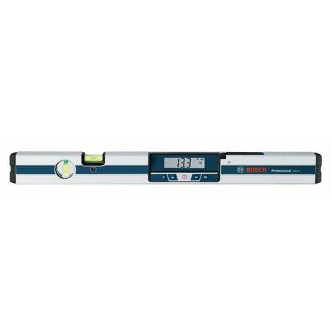 Bosch 0601076700 Inclinómetro digital GIM 60 Professional Medición 4x90°. Gran precisión Longitud 600mm