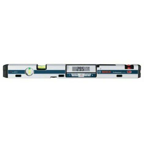 """Bosch 0601076900 Inclinómetro digital GIM 60l Professional Gran precisión Puntero láser alcance 30m Inserción 1/4"""""""