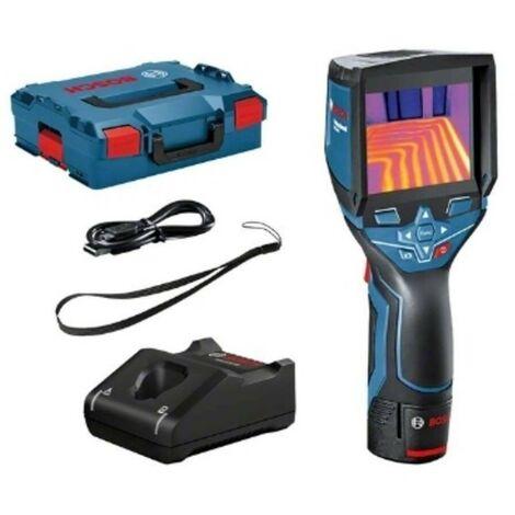 Bosch 0601083101 Cámara térmica GTC 400 C Professional Imágenes térmicas + un rango -10° a 400° Master + Maletín L-BOXX