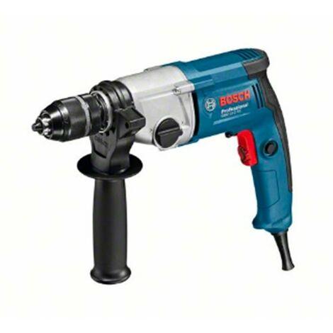 Bosch 06011B2000 Taladro sin percusión GBM 13-2 RE Professional 750W 0-1000/3000rpm Portabrocas cierre rápido 2 velocidades