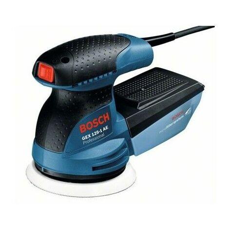 Bosch 0601387500 Lijadora excéntrica GEX 125-1 AE Prof 250W 7500-12000rpm Sistema microfiltro