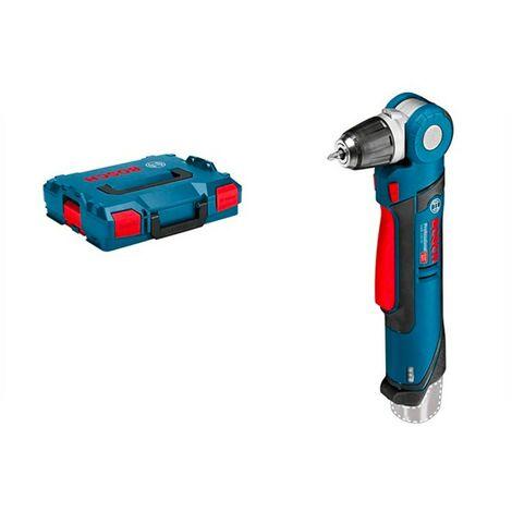 Bosch 0601390909 Taladro angular batería GWB 12V-10 Professional 12V 0-1300rpm Luz integrada 5 Posiciones + L-BOXX